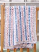 Sweet & Simple Baby Blankets Crochet Pattern Book AA 871376 DISCONTINUED